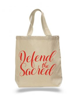 Defend the Sacred Tote Bag