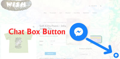 Location of Chat Box Button